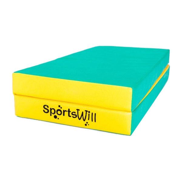 800 Мат SportsWill 100 х 100 х 10 скл зел