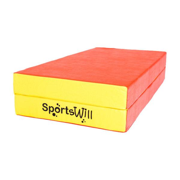 800 Мат SportsWill 100 х 100 х 10 скл красн