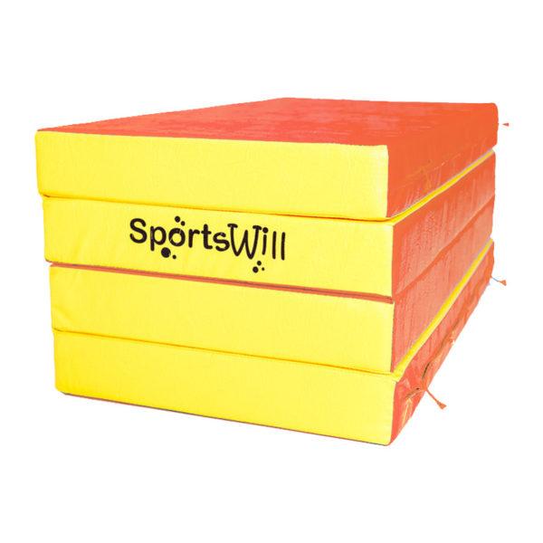 800 Мат SportsWill 200 х 100 х 10 скл крсн