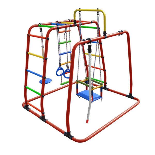 Спортивный комплекс Формула здоровья Игрунок Т Плюс красный-радуга