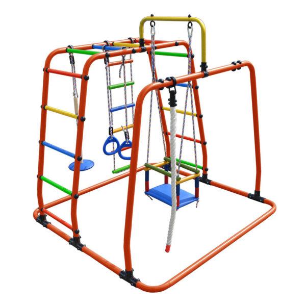 Спортивный комплекс Формула здоровья Игрунок Т Плюс оранжевый-радуга