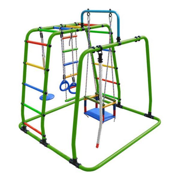 Спортивный комплекс Формула здоровья Игрунок Т Плюс салатовый-радуга