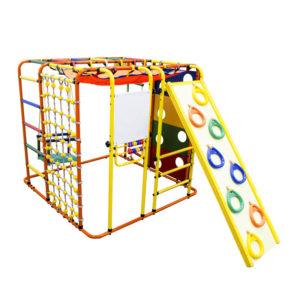 Спортивный комплекс Формула здоровья Кубик У Плюс оранжевый-радуга