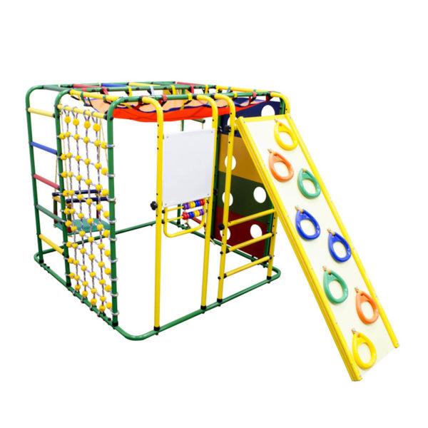 Спортивный комплекс Формула здоровья Кубик У Плюс зелёный-радуга