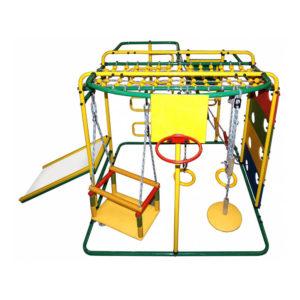 Спортивный комплекс Формула здоровья Мурзилка S зеленый-радуга