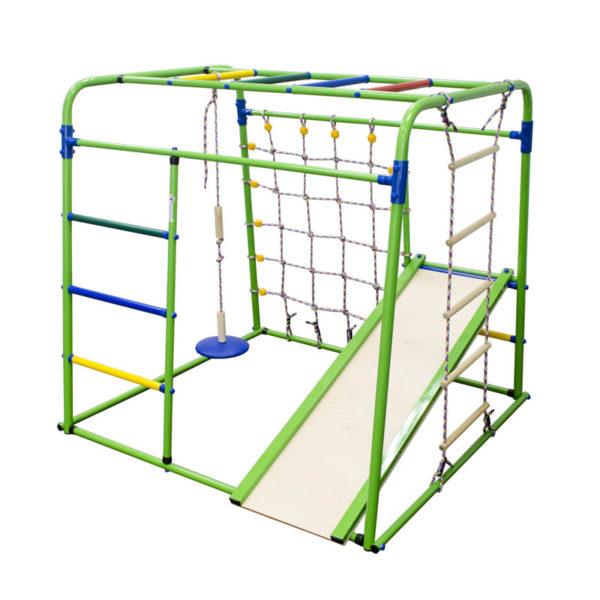 Спортивный комплекс Формула здоровья Start baby 1 Плюс салатовый-радуга