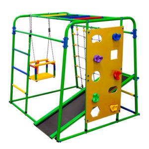 Спортивный комплекс Формула здоровья Start baby 2 Плюс салатовый-радуга