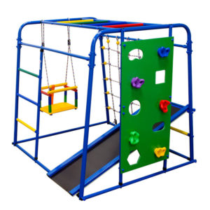 Спортивный комплекс Формула здоровья Start baby 2 Плюс синий-радуга